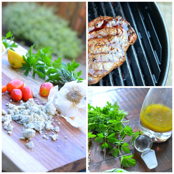 Grilled Rib-Eye Steaks With Parsley-Garlic Butter Recipe — Dishmaps