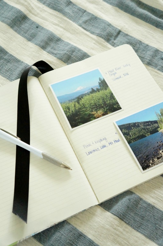 Document your vacation with a special travel journal
